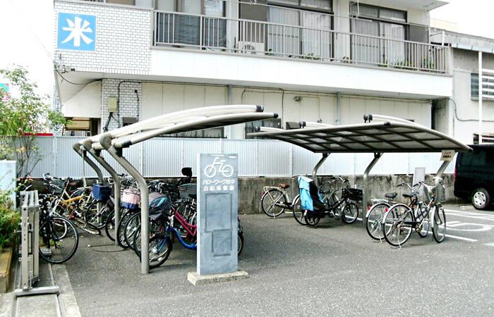 ハローワーク府中の駐輪場