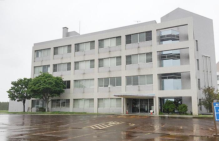 ハローワーク新発田の駐輪場