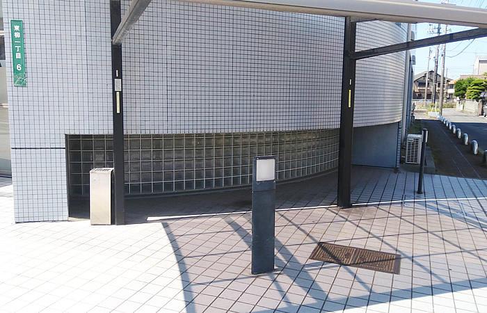 ハローワーク下松の駐輪場