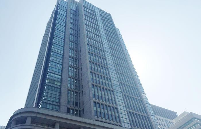 東京・丸の内にある東京本社ビルの外観