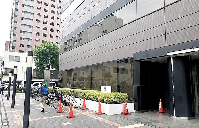 ハローワーク横浜の駐輪場