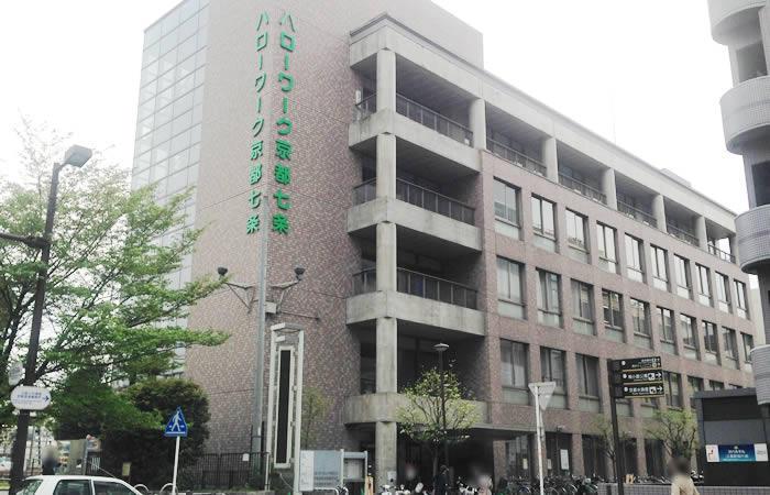 京都府内のハローワーク例