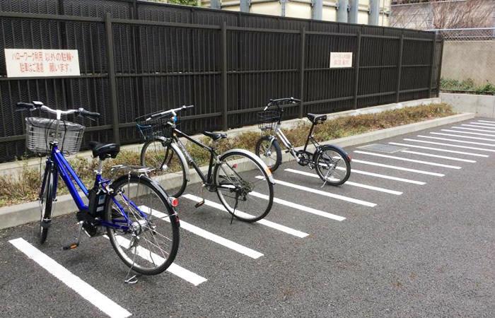 ハローワーク墨田の駐輪場