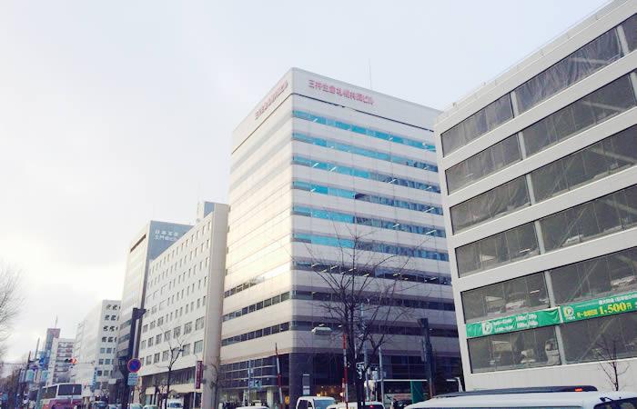 ハローワークプラザ札幌の外観