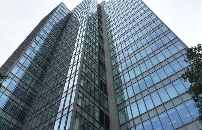 JACリクルートメントの東京本社が入るビルの外観