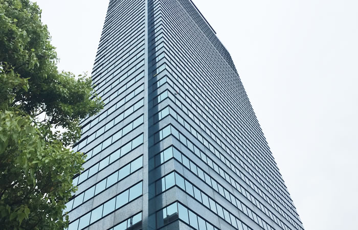 ナース人材バンクのオフィスビル外観画像