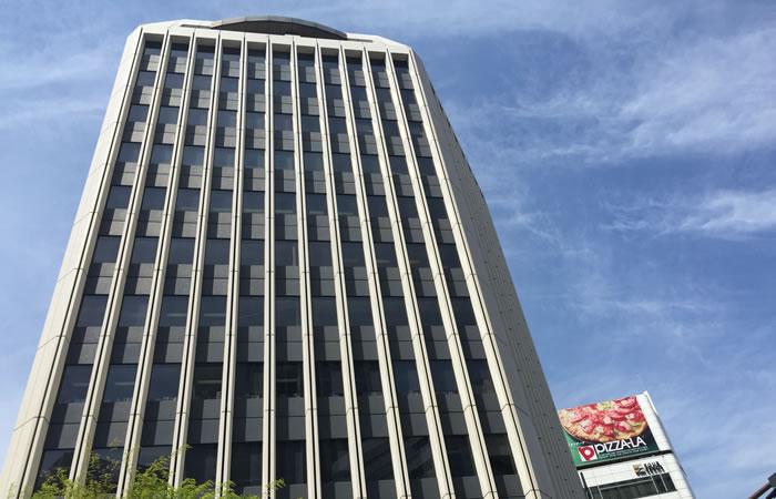 クイックのオフィスビル外観画像