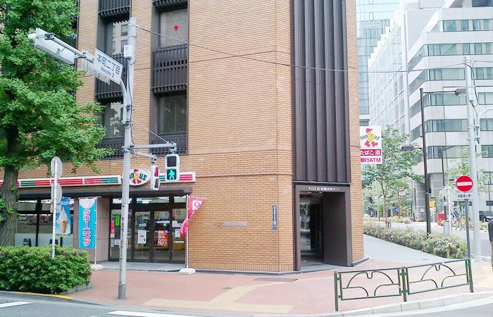 東レエンタープライズのオフィスビル外観画像