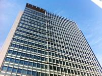 ワークポート東京本社のオフィスビル外観