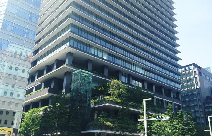 エンワールド・ジャパンのオフィスビル外観画像