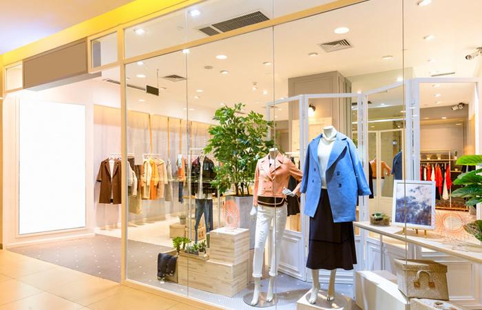 ファッション・アパレル業界の店舗イメージ